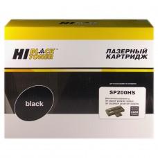 Картридж Ricoh Aficio SP200N/SP202SN/SP203SFN (Hi-Black) SP200HS, 2,6K