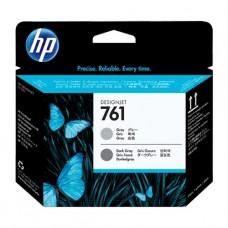 Картридж HP DJ CH647A №761 для DesignJet T7100/T7200 темно-серый/серый печатающая головка