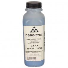Тонер OKIdata C5600/5700 Cyan (AQC) (глянцевый) 60г/фл.
